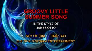 James Otto - Groovy Little Summer Song (Backing Track)