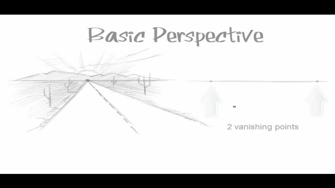 Draw with the three-point perspective