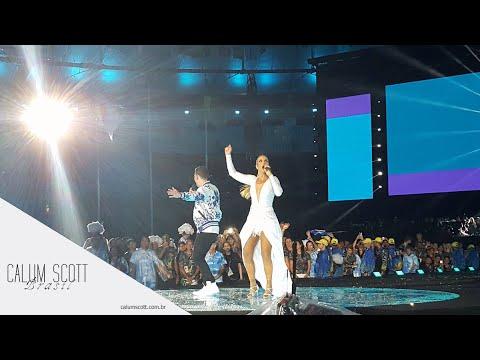 Calum Scott - Diamonds & Dancing on My Own & Transformar ft. Ivete Sangalo (HD)