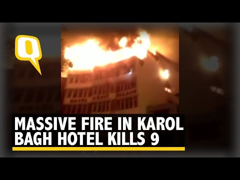 At Least 9 Dead as Massive Fire Breaks Out at Hotel in Delhi's Karol Bagh | The Quint Mp3