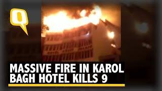 بالفيديو.. 17 قتيلا بحريق فندق في نيودلهي