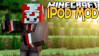 Minecraft Mods - iPod / iPhone Mod! - Download Apps, Control Weather & Spawn ANYTHING! (1.8)