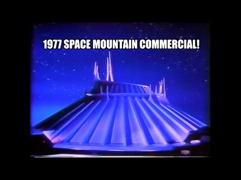 Space Mountain Disneyland Original 1977 TV Commercial