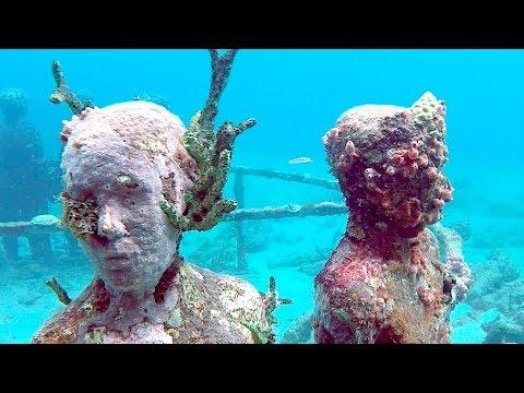Grenada, Underwater Sculpture Park, St. George's / Sailing Aquarius #19