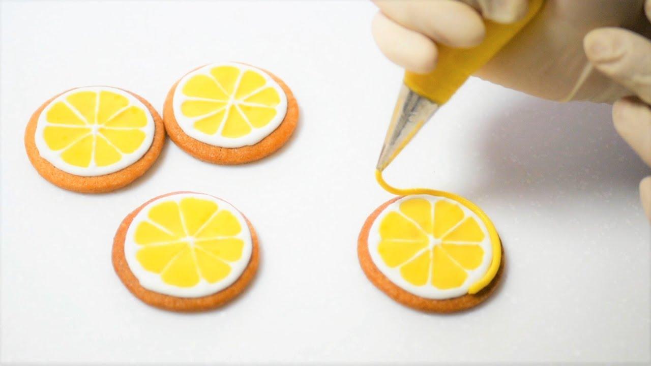 プロフェッショナル♪レモンのアイシング絞り