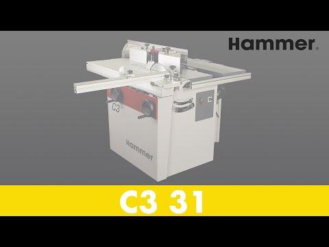 HAMMER - Combination machine C3 31 Rocking chair (ENG) - Part 1