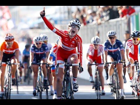 Junior Women's Road Race Highlights - 2014 Road World Championships, Ponferrada, Spain