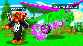 10 Ways To PRANK PRESTONPLAYZ as a MOB in Minecraft!
