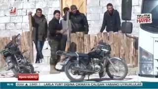 Türkmen Dağı'nda çatışma anı - A HABER