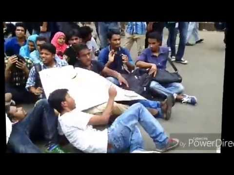 Jagannath University Students Call For Strike On Campus In Front Of National Press Club, Dhaka.