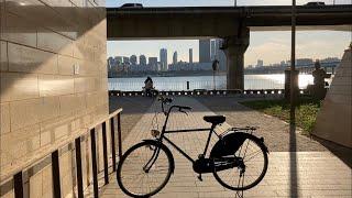 #03 날씨 좋은 가을에 함께 자전거 산책해요 :)