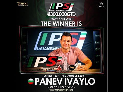 Italian Poker Sport 1 Final Tv Table - Perla Casino 2018