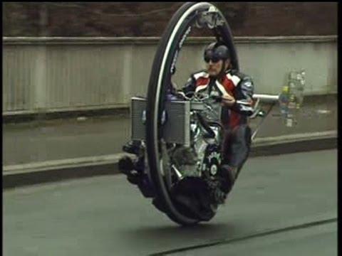 Monowheel Monocycle V8 Einradmotorrad Kerry Mclean Tv