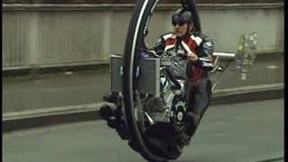 Monowheel, Monocycle, V8 Einradmotorrad, Kerry McLean, TV Beitrag Abenteuer Auto Kabel1
