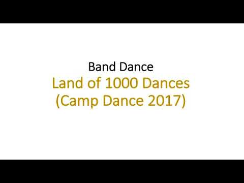 Repeat Land of 1000 Dances Band Dance 2017 by Blue Mountain