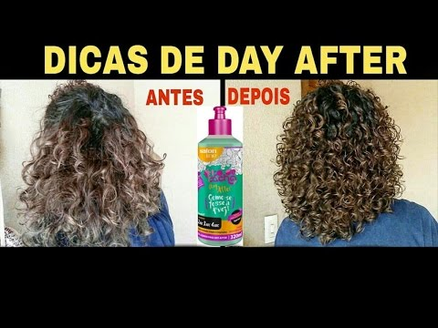 COMO REVITALIZAR OS CACHOS NO DAY AFTER + DICAS | Gel de Day After da Salon Line