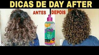 COMO REVITALIZAR OS CACHOS NO DAY AFTER + DICAS | Gel de Day After da Salon Line