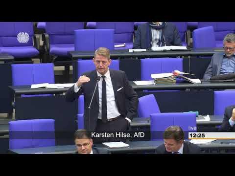 Karsten Hilse (AfD) stellt eine Frage zum...