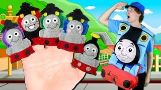 Thomas the Tank Engine Finger Family | Thomas and Friends Finger Family Nursery Rhymes