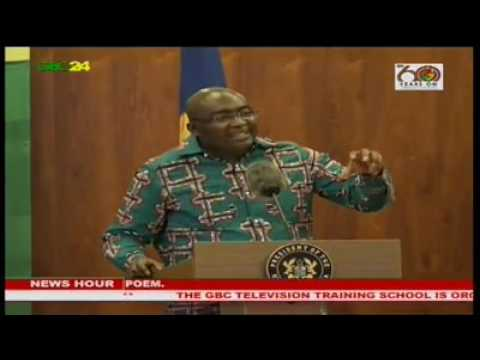 Dr. Mahamudu Bawumia on Ghana's debt stock