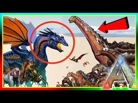 ARK Dinosaur Size Comparisons! UPDATE! (ARK: Survival Evolved Dino Sizes) v5