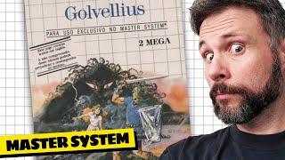 É o Zelda do Master System? Golvellius (Gameplay em Português PT-BR)