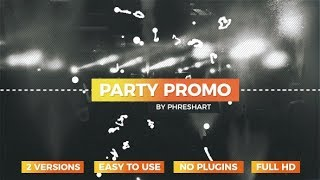 After Effects Template: Party Promo