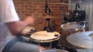 Closure in Moscow - A Night at The Spleen Drum Cover