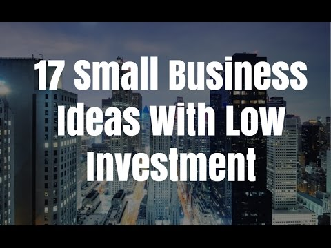 17 Small Business Ideas With Low Investment