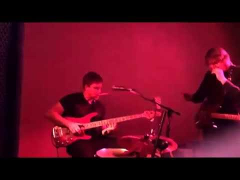 Drummer plays bass Chalky White Duo. Amazing