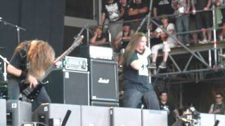 Cannibal Corpse- Make them suffer ( WFF 2010 ).MOV
