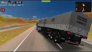 Grand Truck Simulator - Quebra da asa - Scania 113H + Randon bitrem
