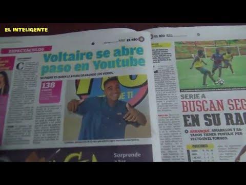 Entrevista en el Diario el Rio al El Inteligente