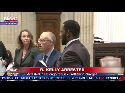 R. KELLY ARRESTED: Faces new federal sex crime charges