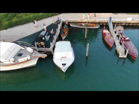 BOAT the BLUE - Antique & Classic Boat Show - River Street Marina Port Huron, Michigan 9-14-2018