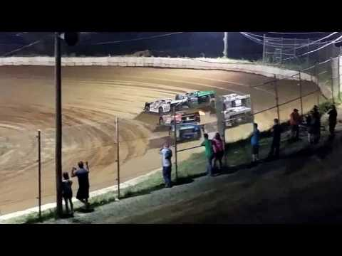 Late Model Feature @ Wartburg Speedway (4-29-17)