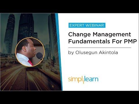 PMP® Change Management Process | PMP® Training Videos  | Project Management Tutorial | Simplilearn