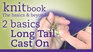 Knitbook: Long Tail Cast On