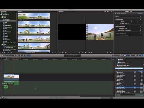 Final Cut Pro X: How to add a Soundtrack to a Video
