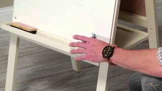 Classic Playtime Junior Easel - Vanilla - Product Review Video