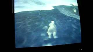 Arctic Tale - Wii - Swimming Under Land Glitch