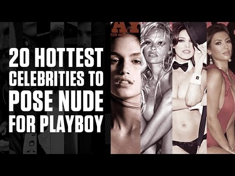 20 Hottest Celebs To Pose Nude For Playboy | Complex