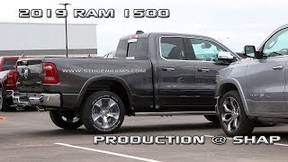 2019 Ram 1500 production at Sterling Heights Assembly Plant