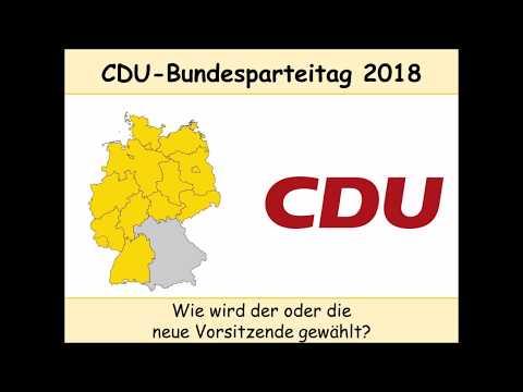 CDU-Bundesparteitag 2018: Wie wird der oder die neue CDU-Vorsitzende gewählt?