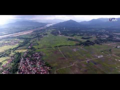 Binh Dinh province from drone