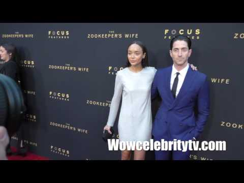 "Ashley Madekwe at Premiere Of Focus Features' ""The Zookeeper's Wife"""