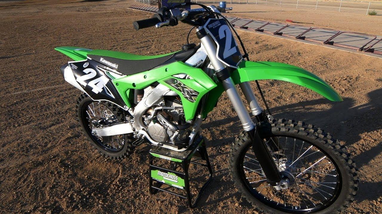 First Ride 2019 Kawasaki KX250 - Motocross Action Magazine