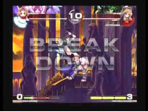 11102010 VIVA-TUA2 Arcana Heart 3 2v2 Random Team Tournament 2 Semis and Finals
