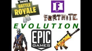 Evolution of Fortnite 2011-2018(Fortnite VGA Debut - Fortnite Battle Pass Season)