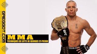 Download Video MMA  : Techniques de Lutte de Georges St-Pierre (GSP) MP3 3GP MP4